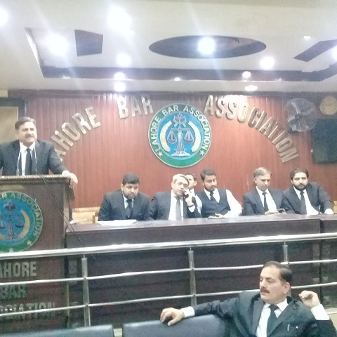 Lahore Bar Association Cabinet